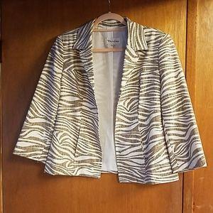 TanJay 3/4 sleeve blazer
